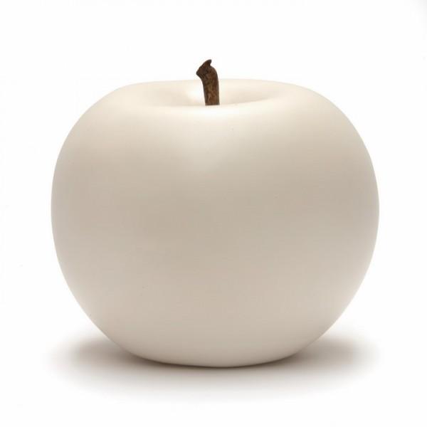 Keramik Apfel weiß | Cores da Terra