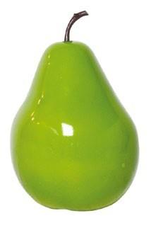 Birne grün - pear fruit - Dekofrucht