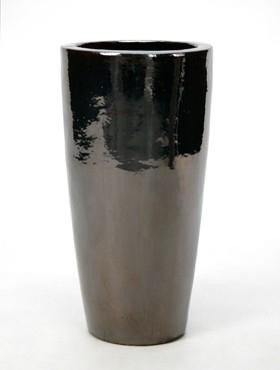 Partner Vase   Metallglanz Keramik