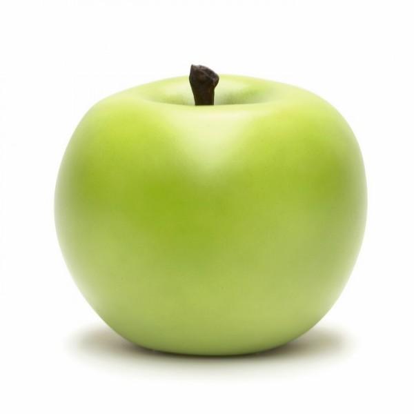 Keramik Apfel grün   Cores da Terra