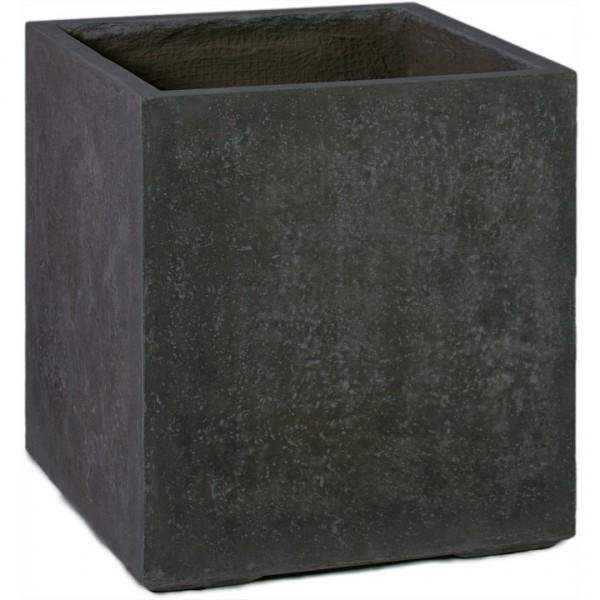 Division Cube anthrazit | Pflanzkübel