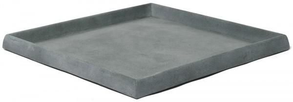 untersetzer quadratisch f r pflanzk bel artline graphit palmenmarkt. Black Bedroom Furniture Sets. Home Design Ideas