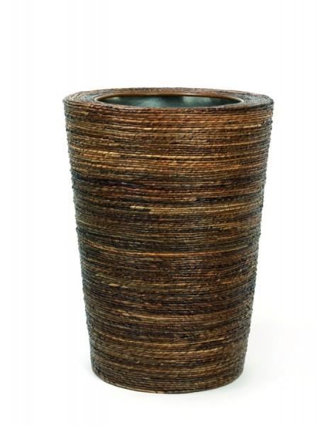 Bananaleaf-Conical-Pflanzvase-handgeflochtenen-Faserbananen