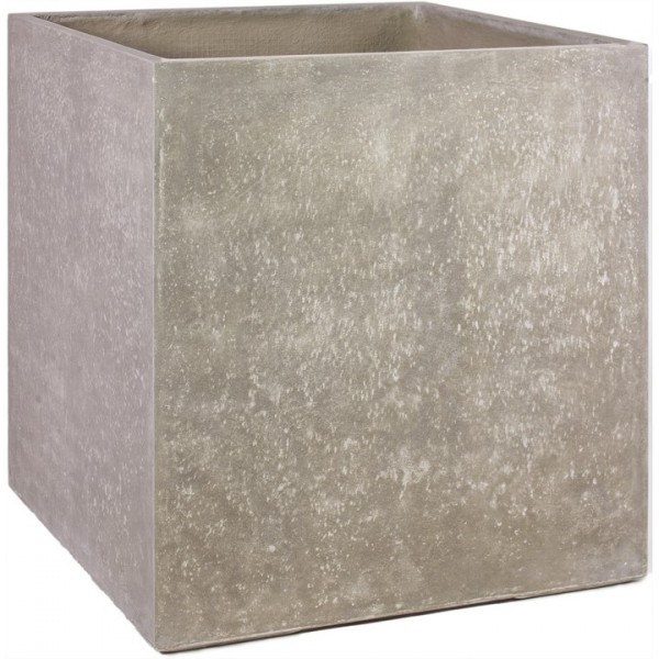 Division Cube naturbeton | Pflanzkübel